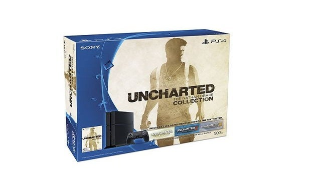 Uncharted The Nathan Drake Collection Ps4 Bundle Coming
