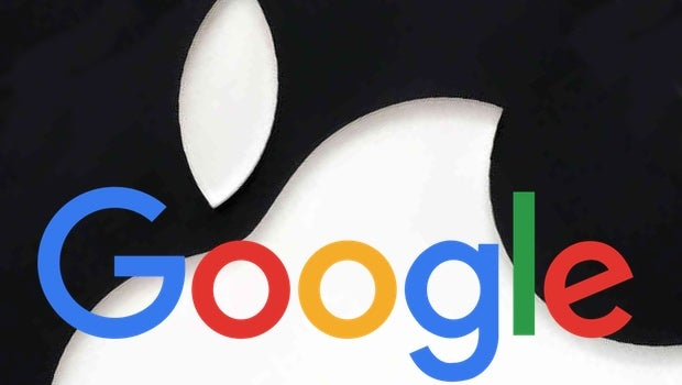 Apple Google logo