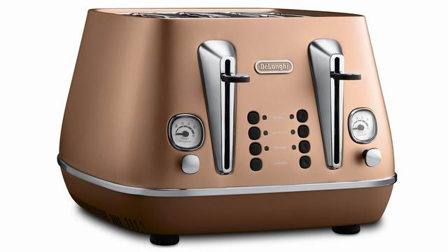 De'Longhi Distinta 4 Slot Toaster