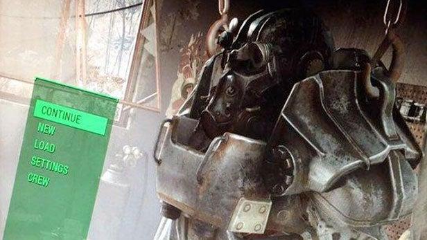 Fallout 4 menu