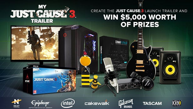 Just Cause 3 competition