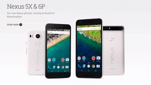Nexus 5X and 6P 5