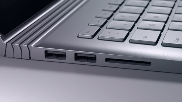 Surface Book ports