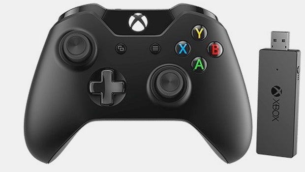 Windows 10 xbox 360 wireless controller adapter wire center windows 10 gamers can soon go wireless with an xbox one pad rh trustedreviews com windows 10 xbox one wireless controller adapterreceiver driver windows 10 ccuart Images
