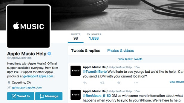 Apple Music help