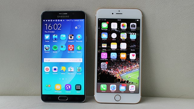 Note 5 vs iPhone 6S Plus 13