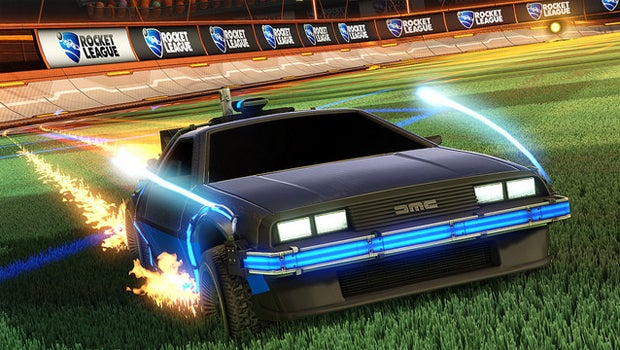 DeLorean Rocket League