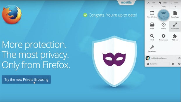 Firefox Private