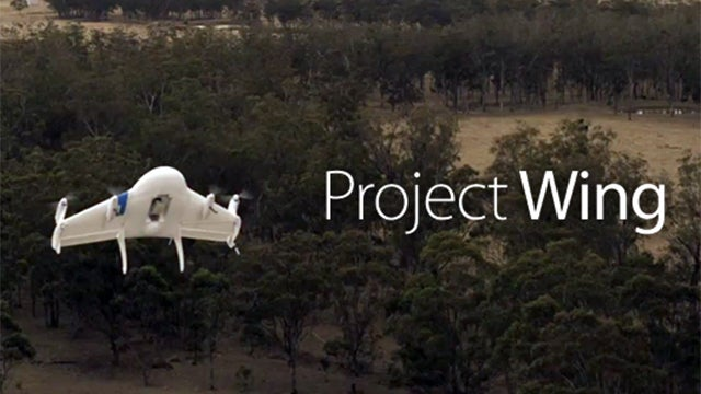 Project Wing drone