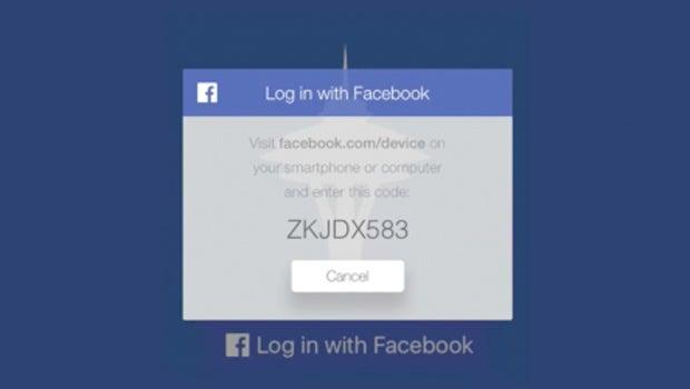 Facebook Apple TV