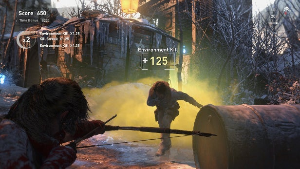 Twitch Viewers Can Influence Rise Of The Tomb Raider Gameplay Trusted Reviews