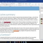 Office 2016 Word Real Time