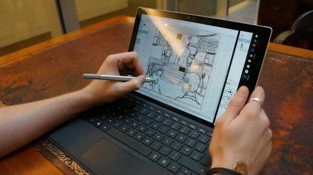 microsoft surface pro 4 extras display software and performance