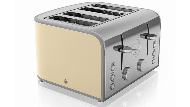 Swan Retro ST17010 Four Slice Toaster