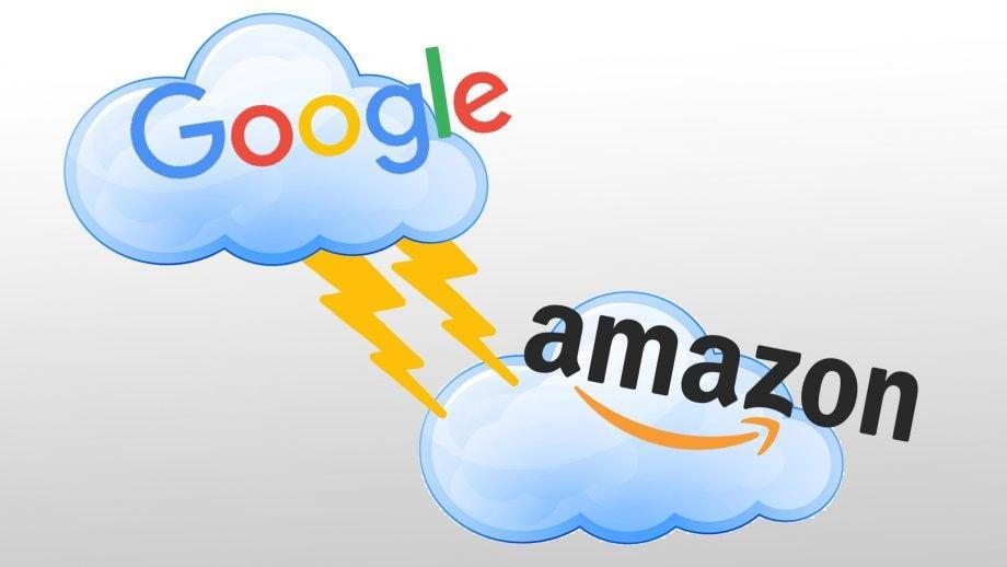 Google vs Amazon cloud