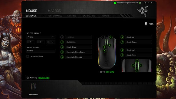 Razer Mamba Review | Trusted Reviews