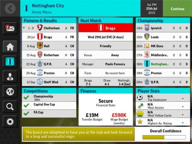 Football Manager Mobile 2016 1