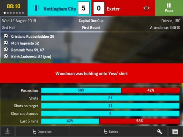 Football Manager Mobile 2016 11