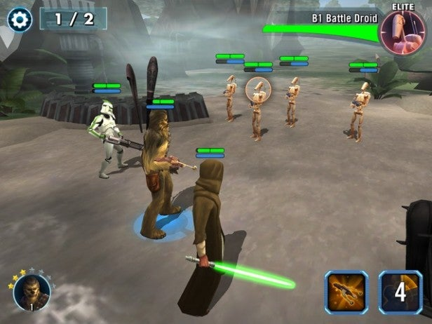 Star Wars Galaxy of Heroes 1