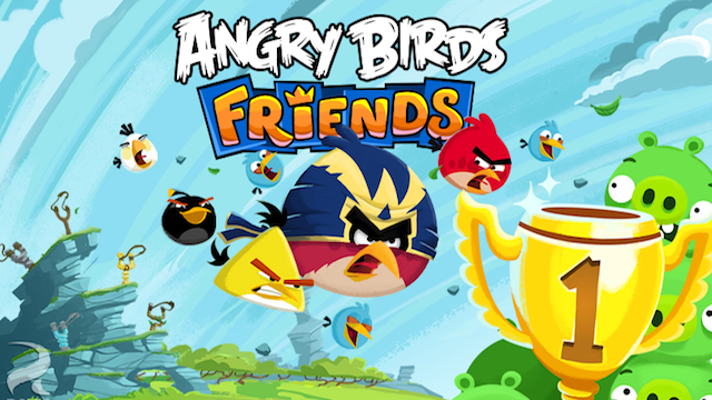 Now You Can Play Angry Birds Friends And More On Your