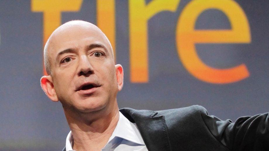 Amazon founder Jeff Bezos
