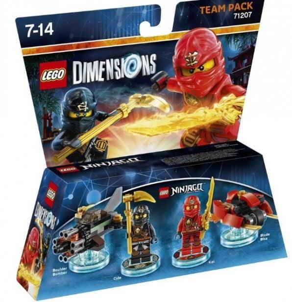 Lego Dimensions: Lego Ninjago Team Pack