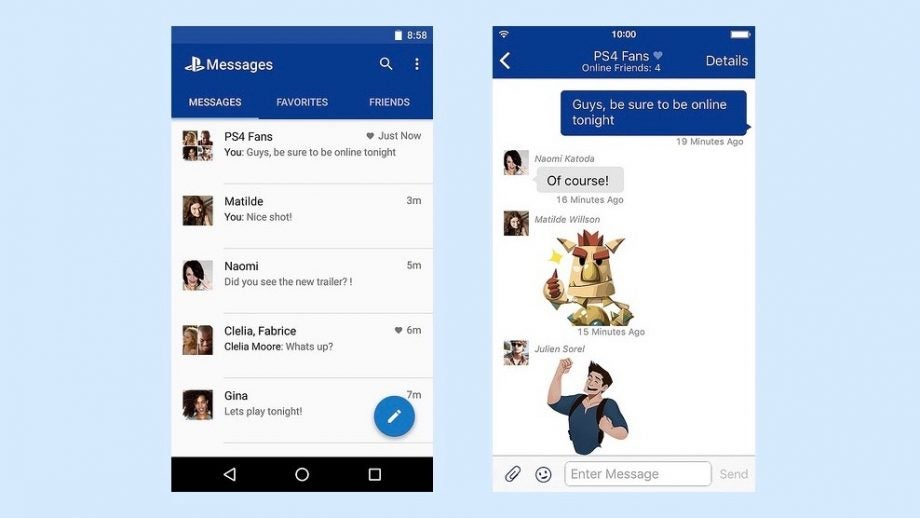 Sony launches dedicated PlayStation Messages app | Trusted