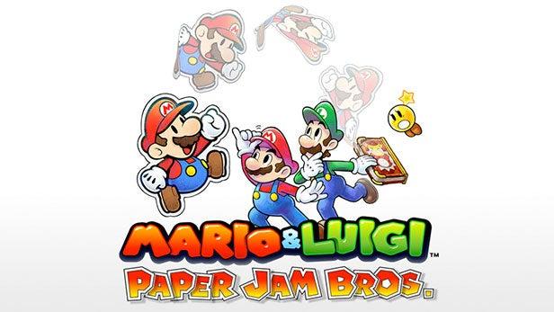 Mario and Luigi Paper Jam Bros