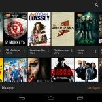Plex TV Show library on Android