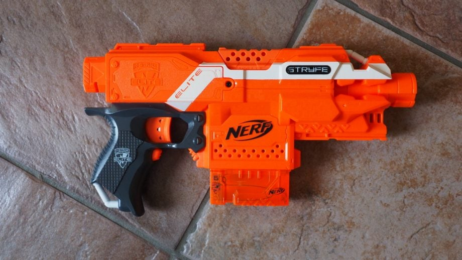 Nerf gun Blaster lot- Elite, Mega, Rival, plus darts, clips,