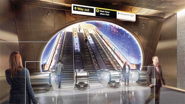 New London Underground Station Designs Give Us Glimpse Of