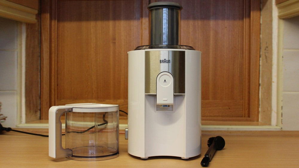 Braun J500 Spin Juicer Review Trusted Reviews
