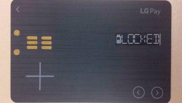 LG White Card