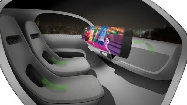 is this what the apple car interior will look like trusted reviews. Black Bedroom Furniture Sets. Home Design Ideas