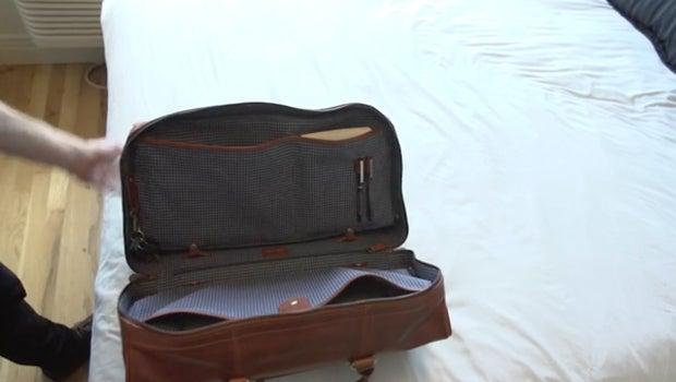 duffel suitcase