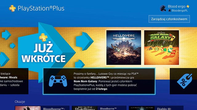 PS Plus leak