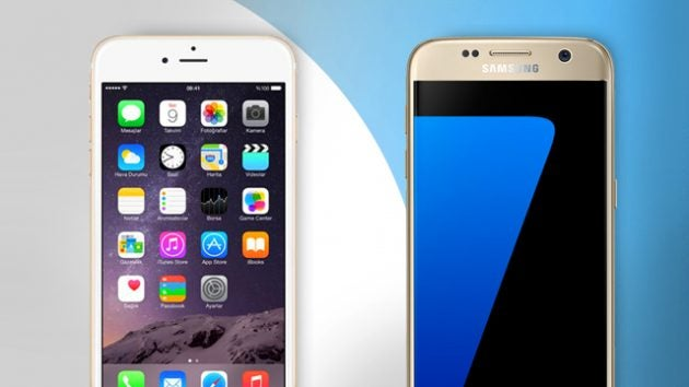 samsung iphone. samsung galaxy s7 vs iphone 6s: which is the best? iphone trustedreviews