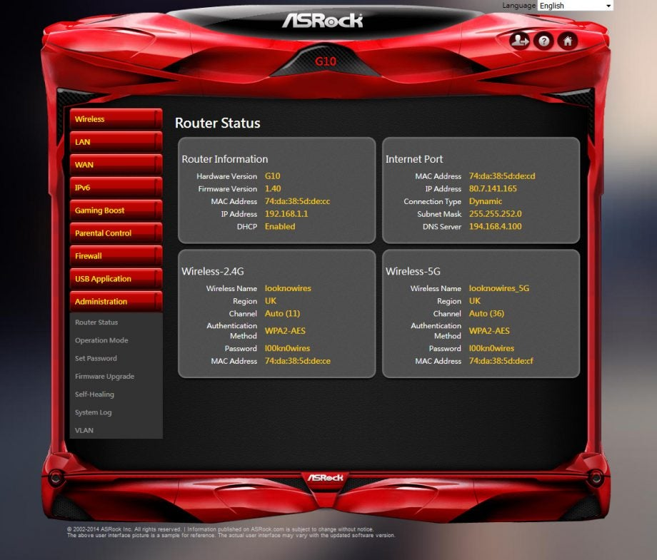 Asrock G10 Ac2600 Gaming Router Review Trusted Reviews