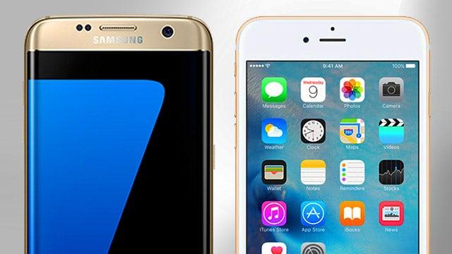 Iphone 8 vs samsung s7 edge