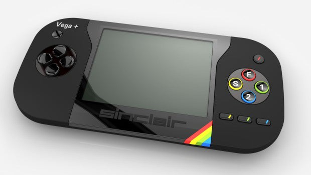 sinclair zx spectrum vega plus