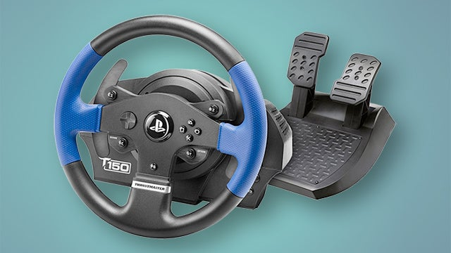 best racing wheels the top five steering wheels for pc. Black Bedroom Furniture Sets. Home Design Ideas