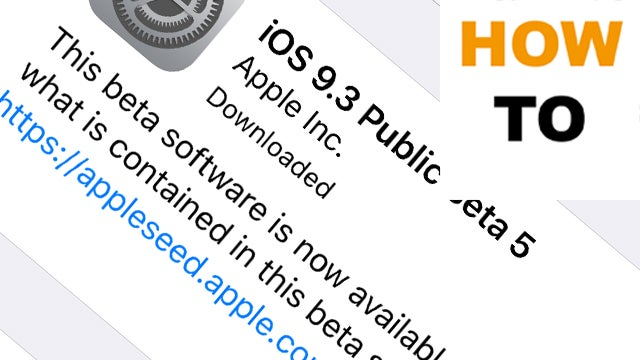 How to download iOS 9 3 on your iPhone and iPad right now