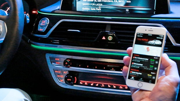 Bmw Connecteddrive App Becomes An In Car Version Of Google