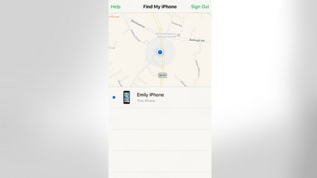 what does find my iphone alert sound like