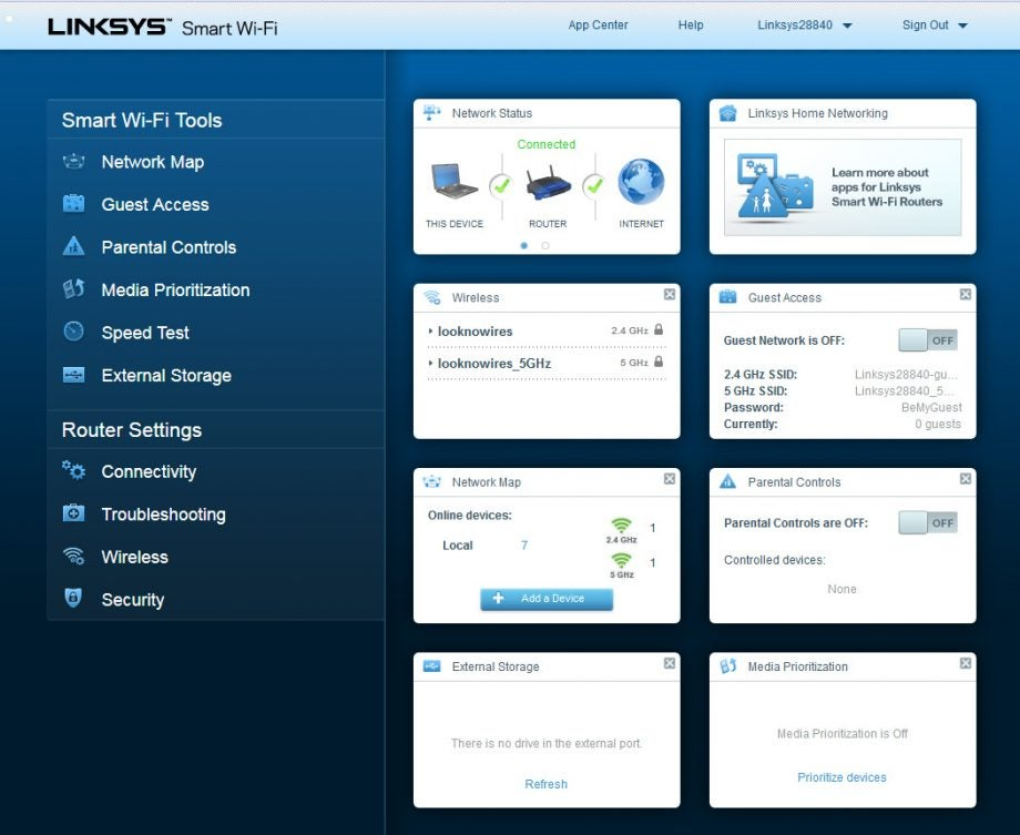 Linksys WRT1200AC Review | Trusted Reviews