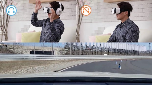 Samsung 4D headphones