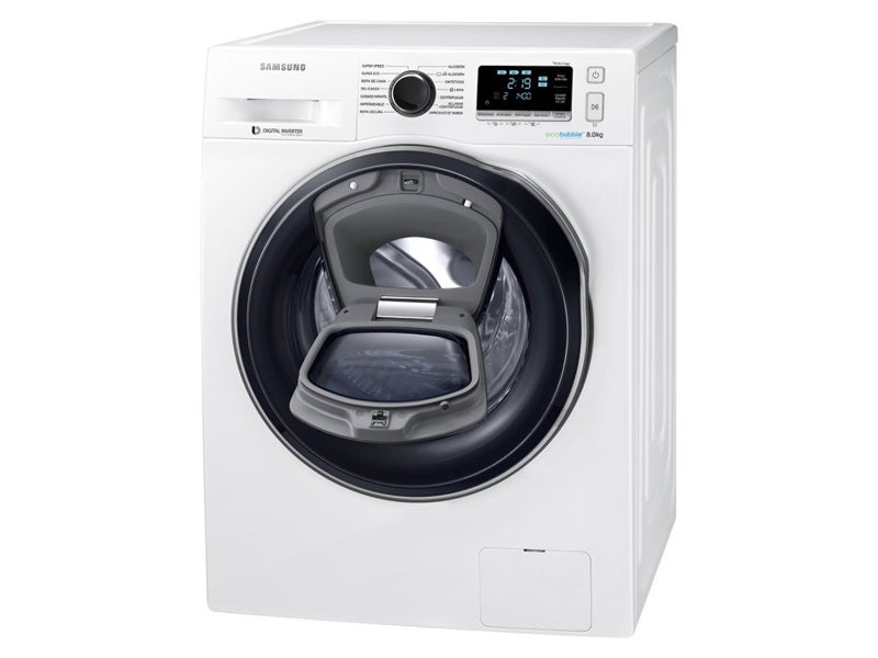 samsung ww80k6414qw - Samsung Ww8ek6415sw Add Wash