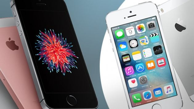 IPhone SE Vs 5S Whats New