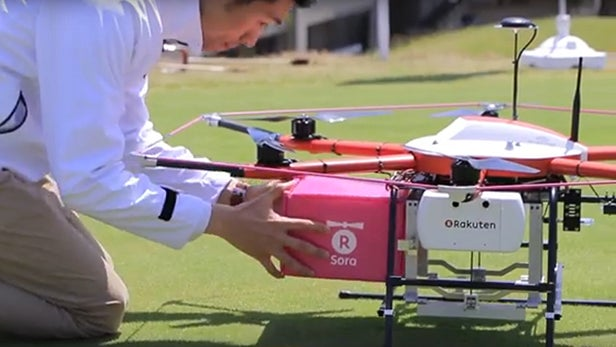 Watch This Food Delivery Drone For A Glimpse Of The Future