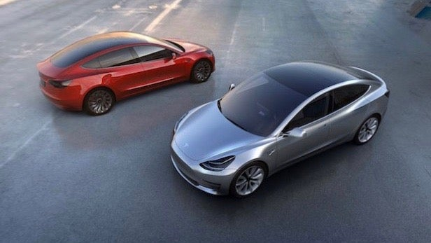Tesla Model 3 Could Come With Heads Up Display